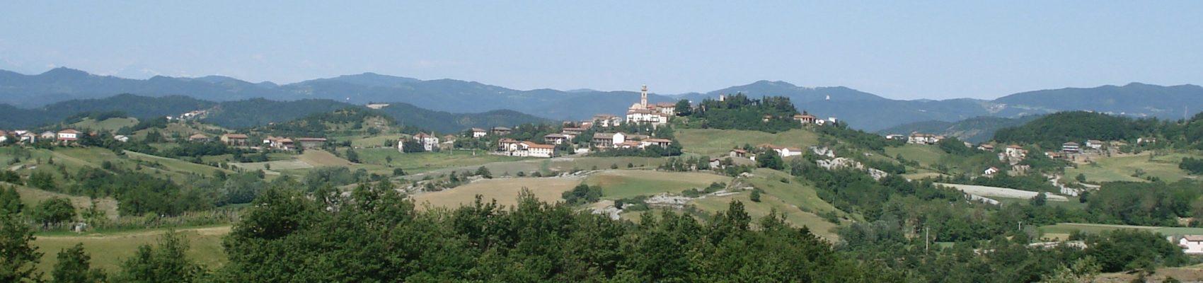 Pareto vanaf heuvel Pian del Gatto