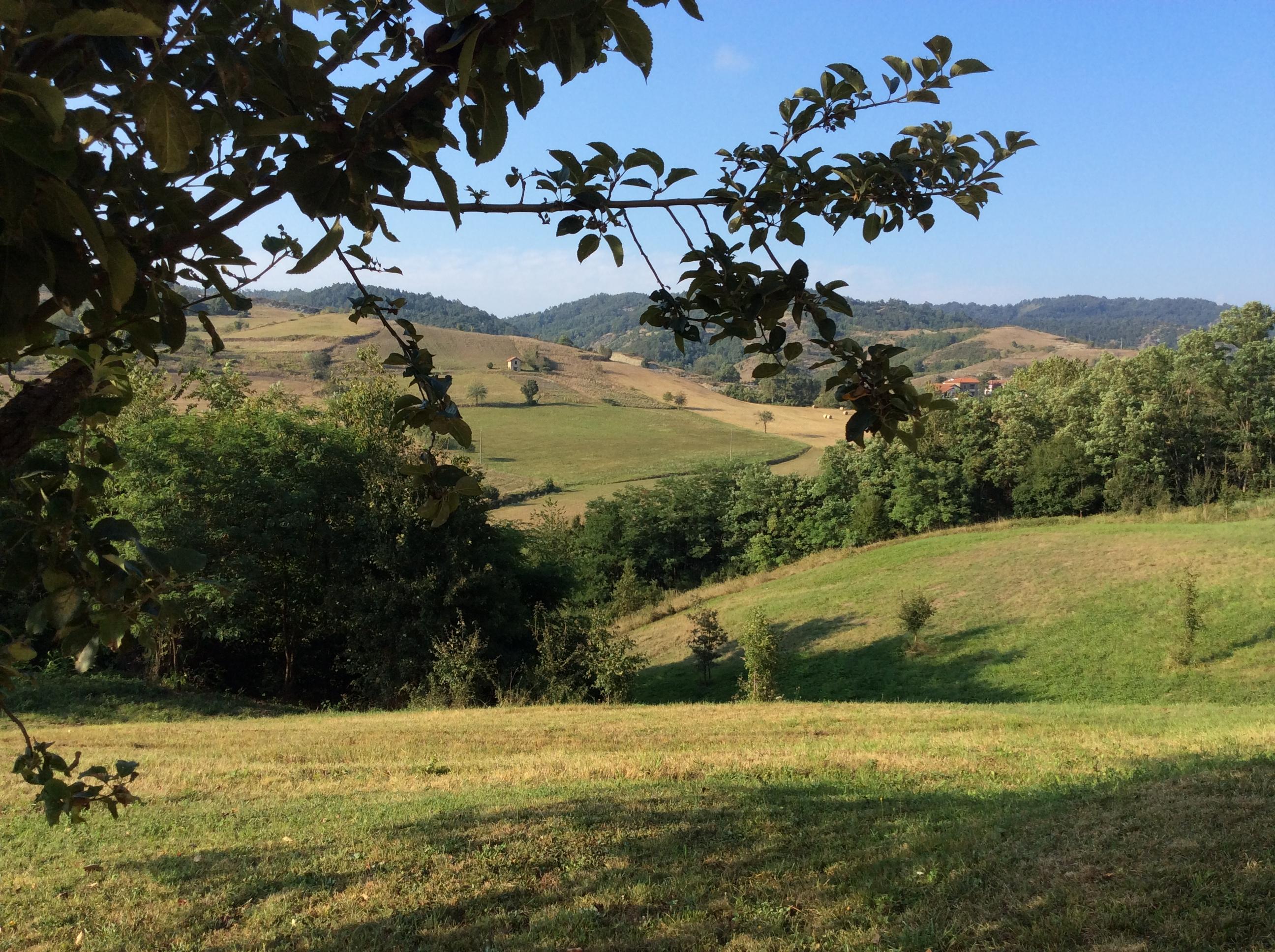 Uitzicht vanaf Pian del Gatto