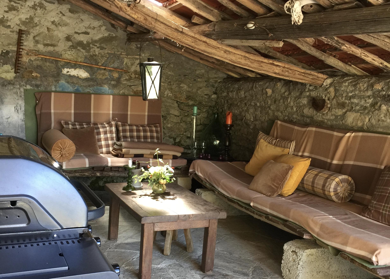 Lounge hoek Pian del Gatto